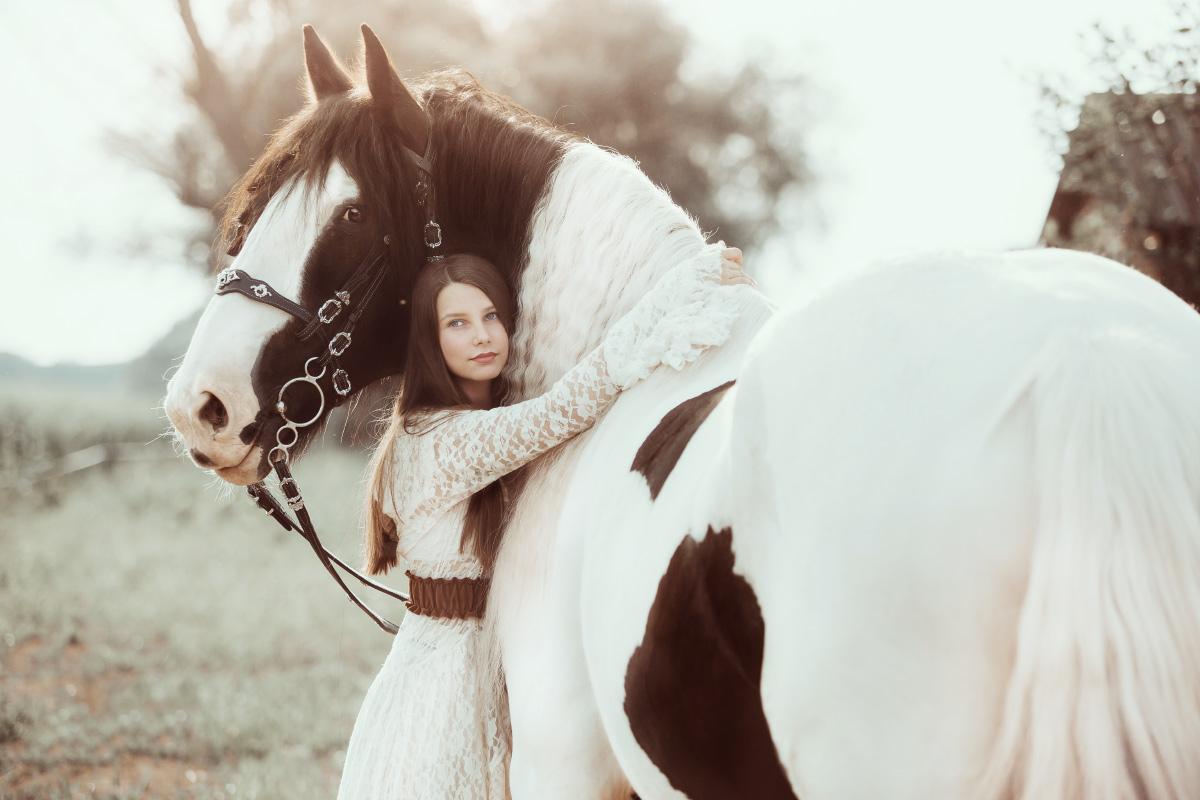 Sesja z konie, zdjęcia jeździeckie, sesja konna