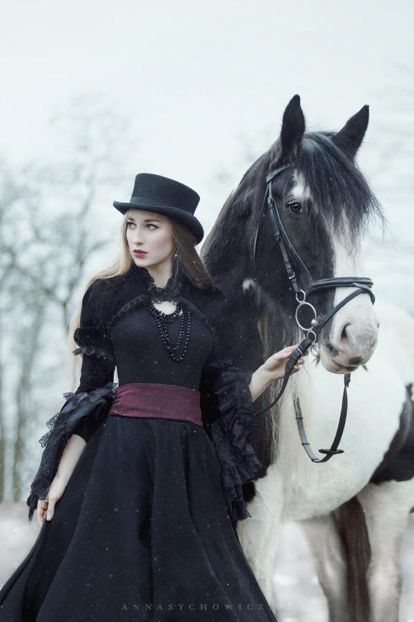 Sesja z koniem , fotograf koni
