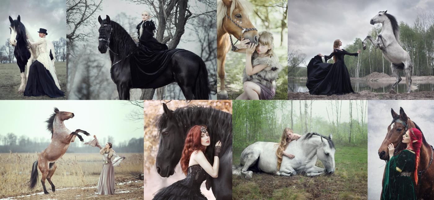 Fairy Horses – Stylizowane sesje zdjęciowe z końmi