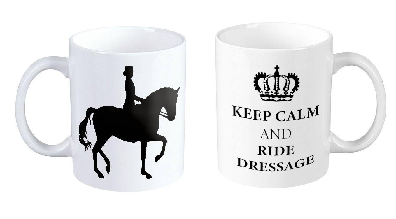 Kubek z nadrukiem, kubek z koniem, gadżety jeździeckie, kubki z koniem
